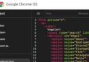Blogging on Chrome OS: Editing code with syntax highlighting