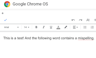Blogging on Chrome OS: Optimizing English texts linguistically