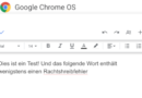Blogging on Chrome OS: optimizing foreign-language texts linguistically